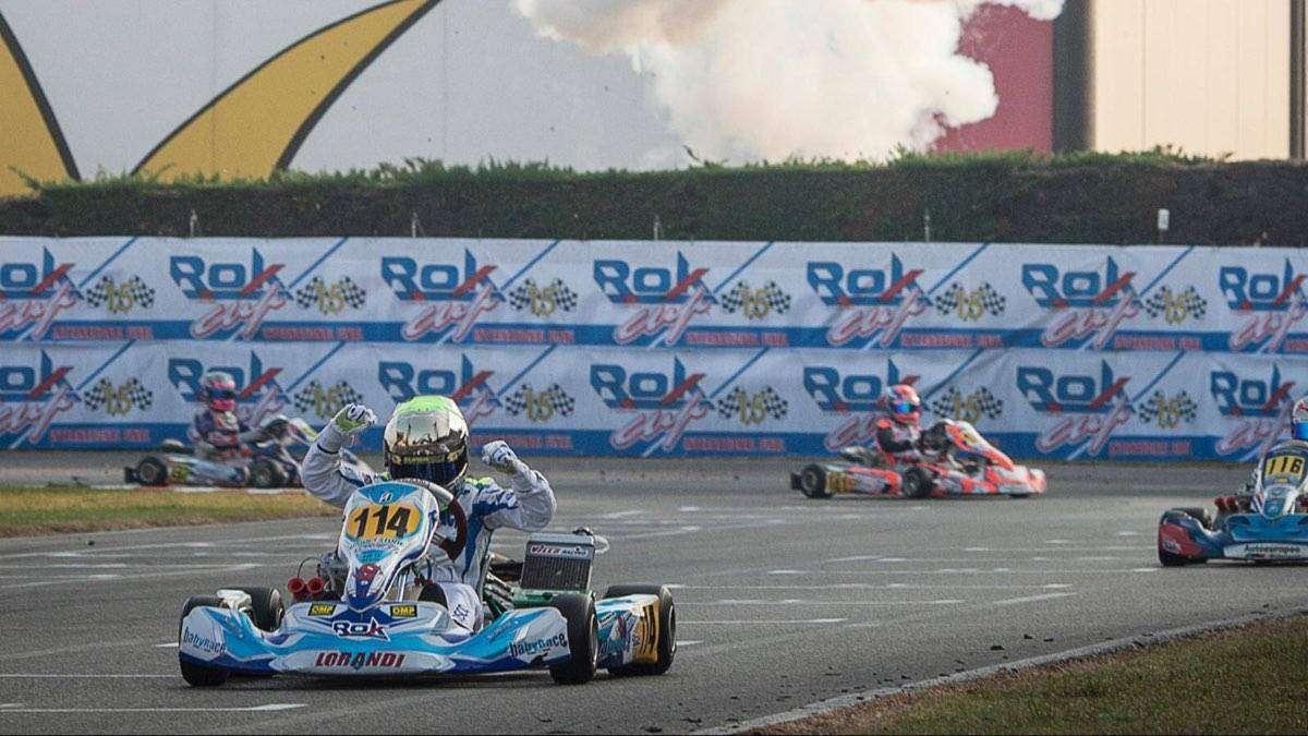 LUCA BOSCO pilota go kart3
