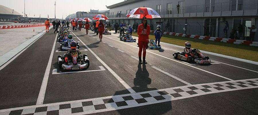 team racing go kart